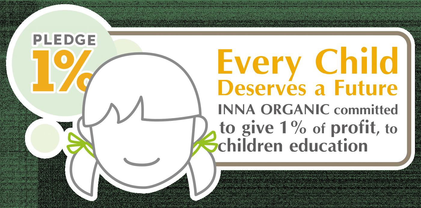 Inna Organic support children education icon